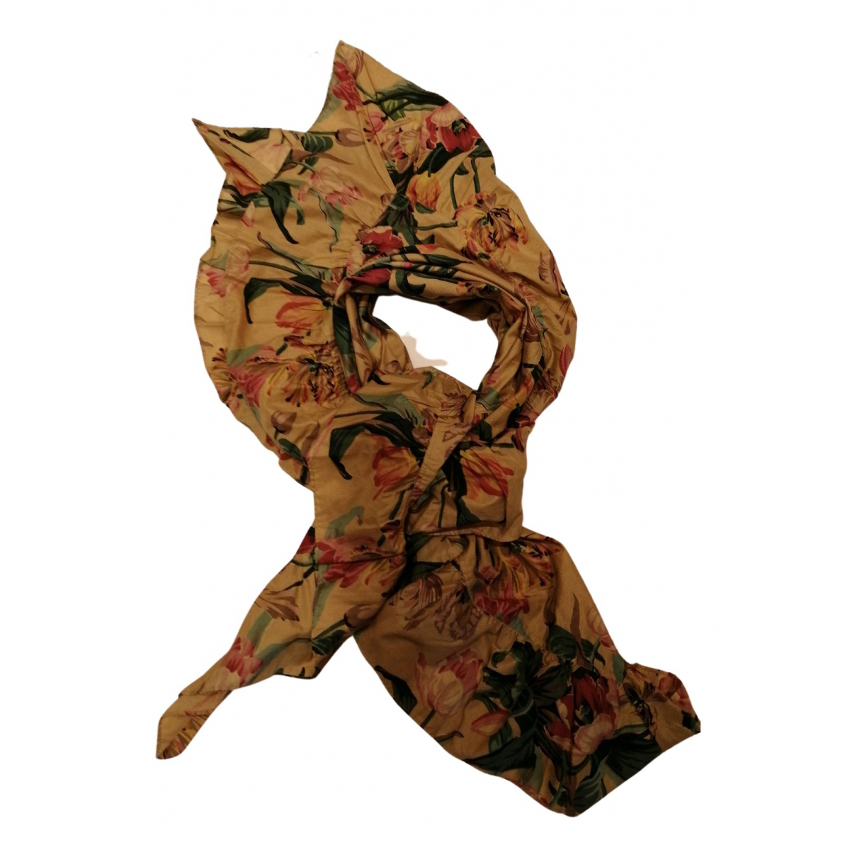 Kenzo N Beige Cotton scarf for Women N