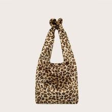Girls Leopard Shoulder Bag