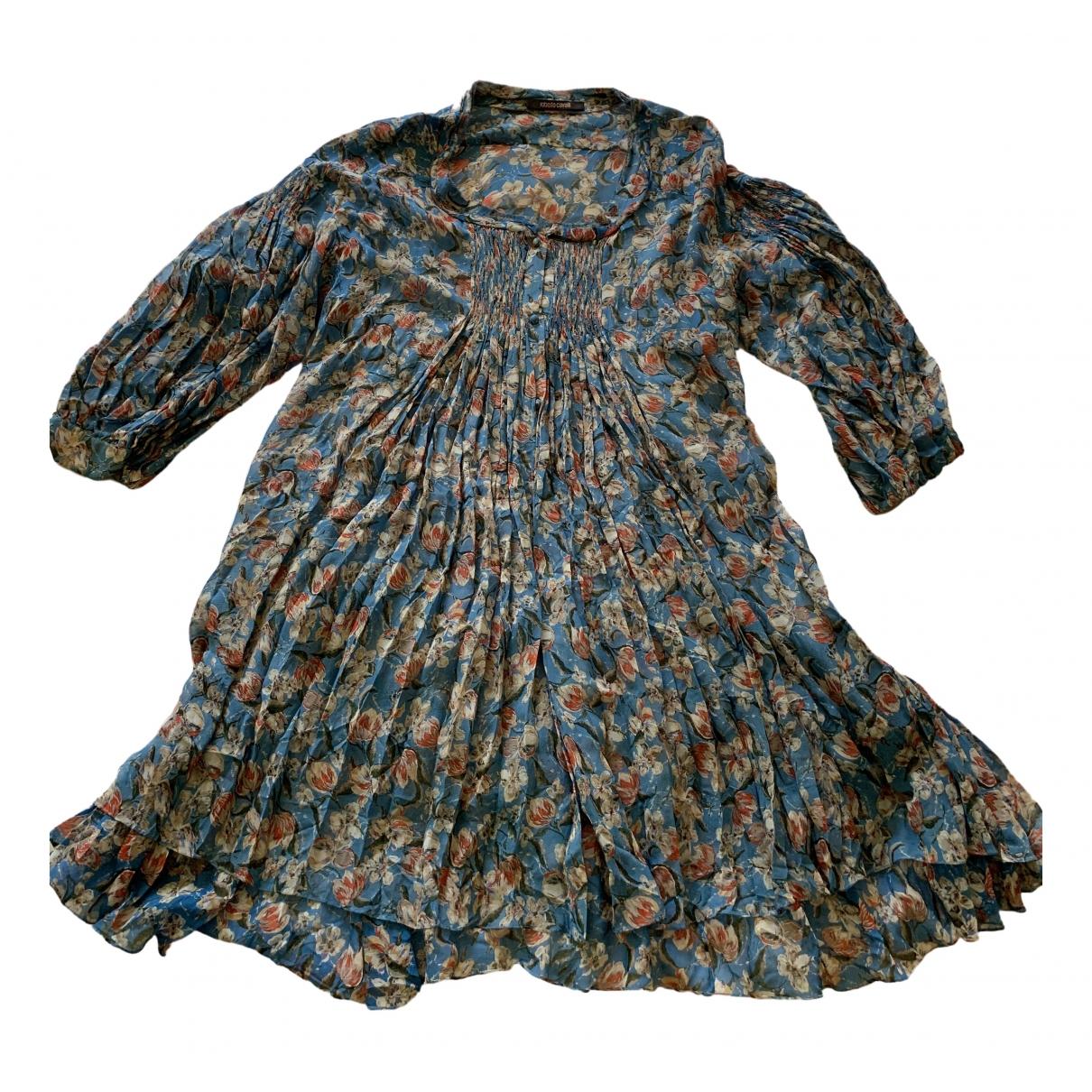 Roberto Cavalli \N Silk dress for Women 42 IT