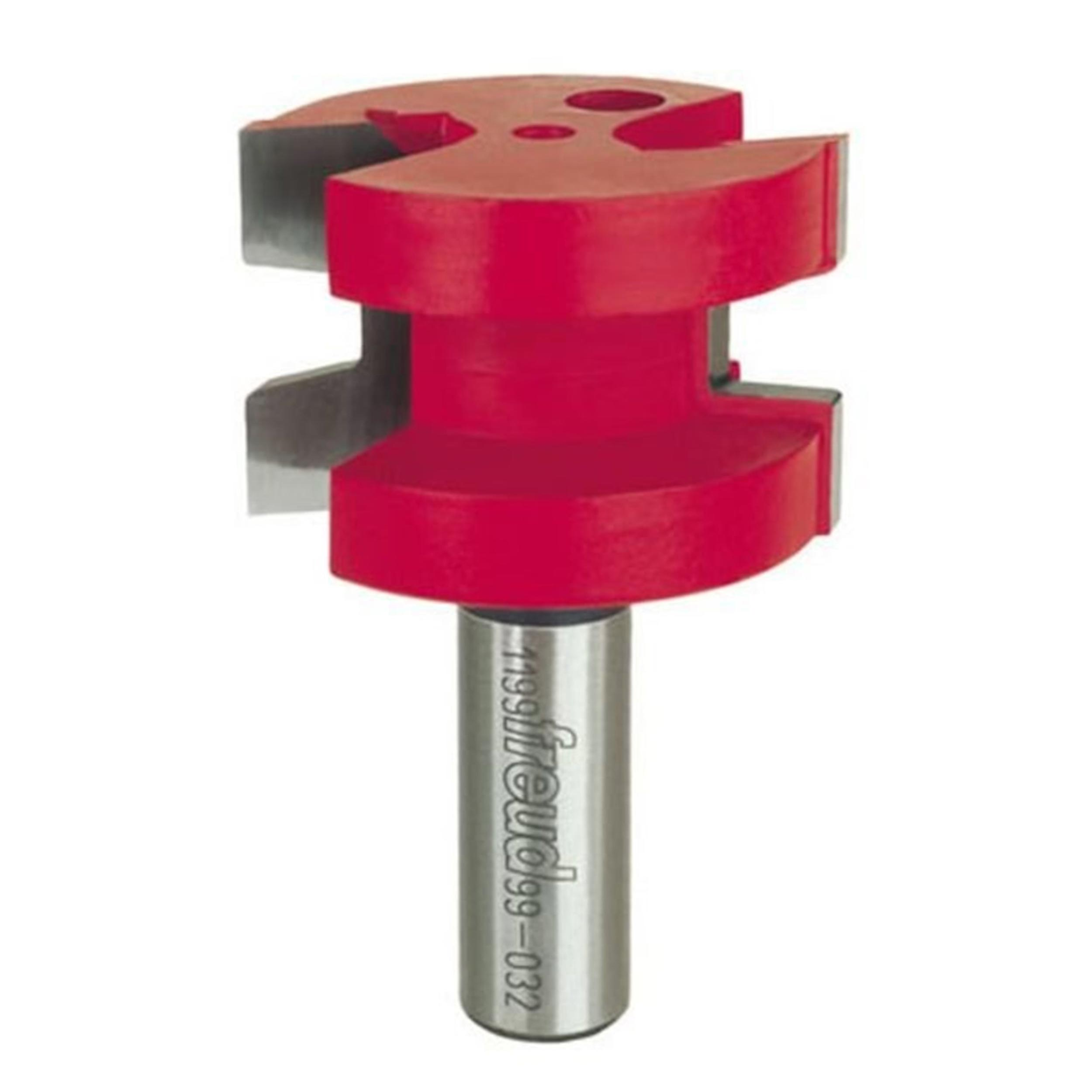 """99-032 Wedge Tongue Router Bit 1/2"""" Shank"""