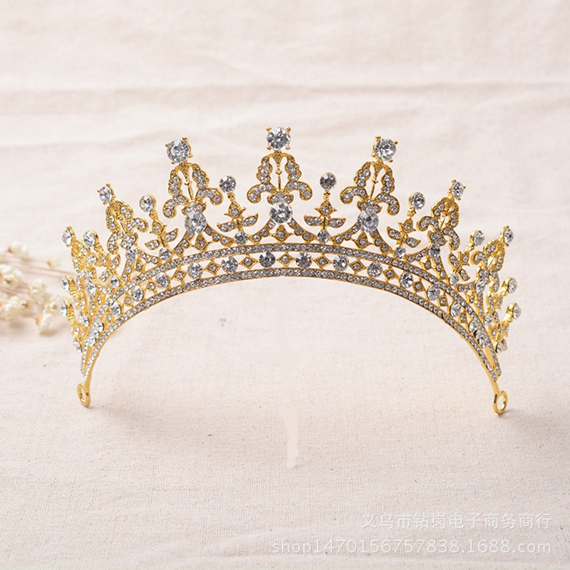 Ericdress Diamante Tiara Hair Accessories (Wedding)