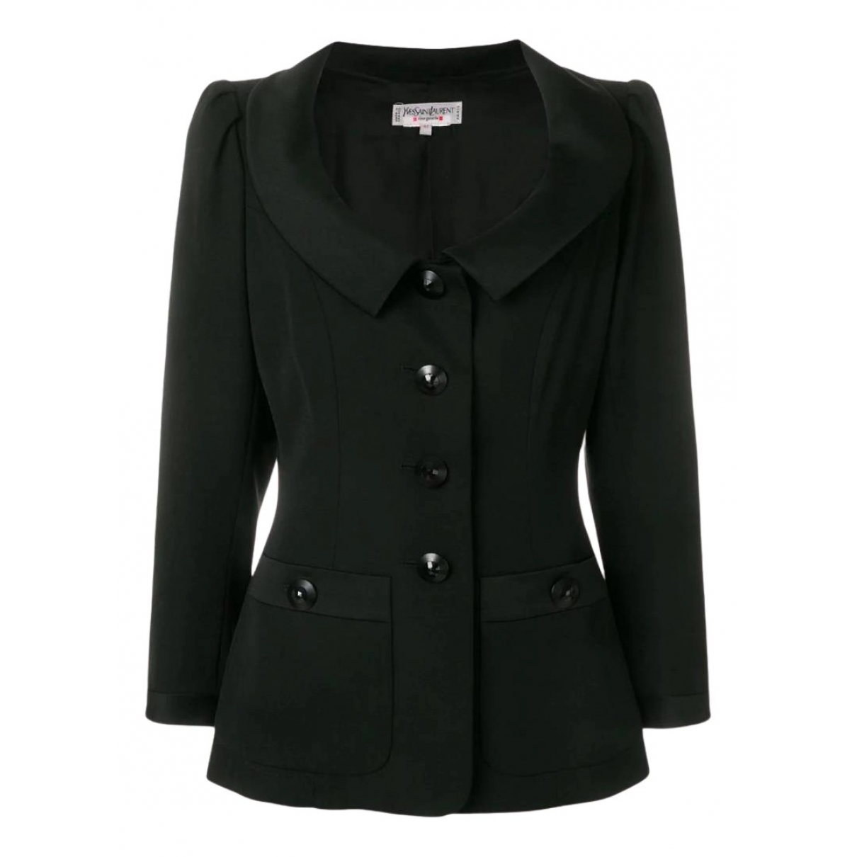 Yves Saint Laurent N Black Wool jacket for Women 42 FR