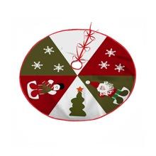 Santa Claus Print Christmas Tree Skirt