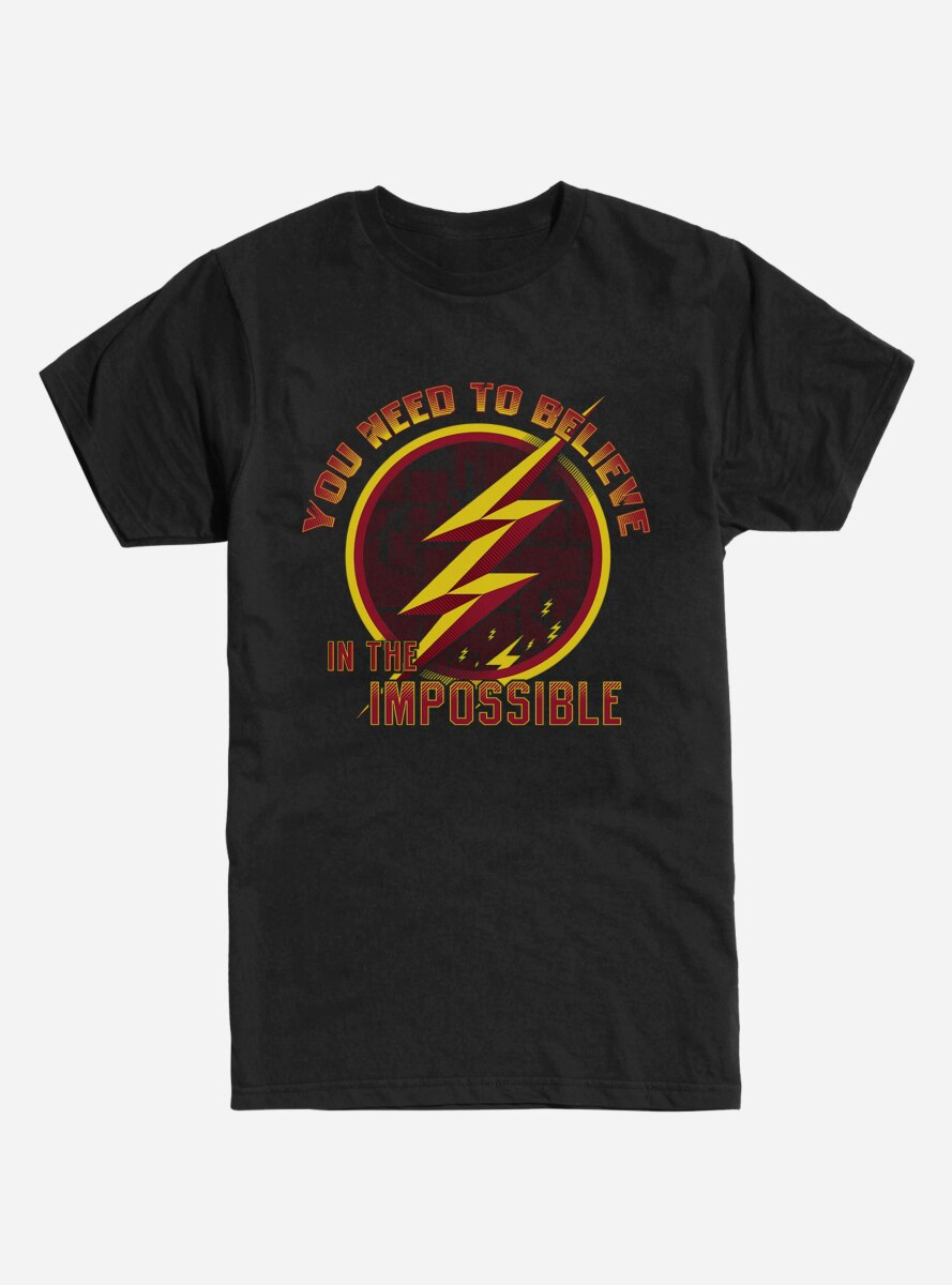 DC Comics The Flash You Need To Believe T-Shirt