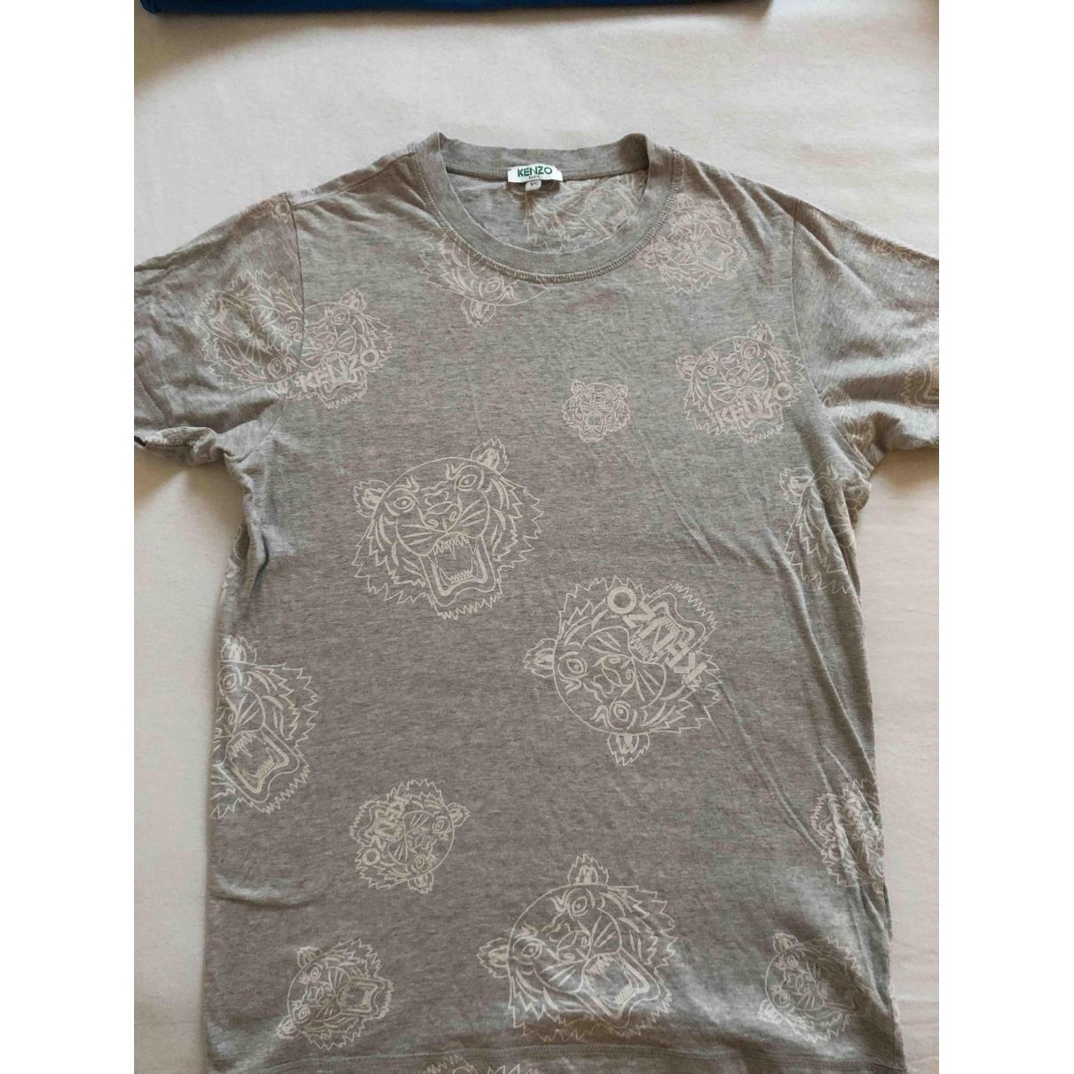 Kenzo \N T-Shirts in  Grau Baumwolle
