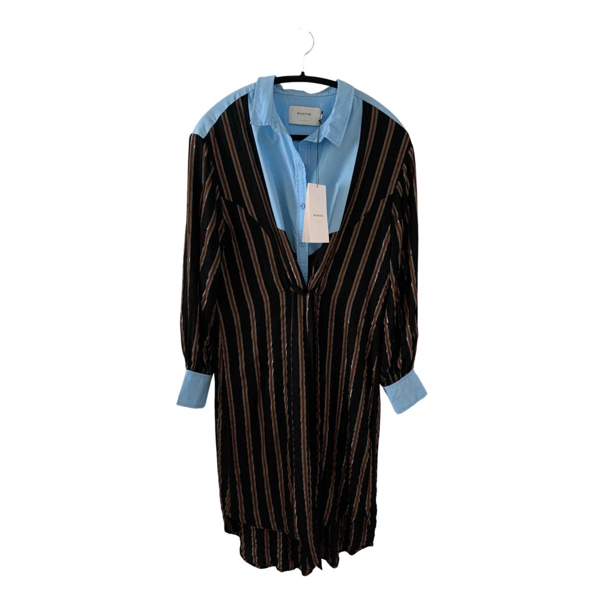 Munthe \N Brown Cotton dress for Women S International