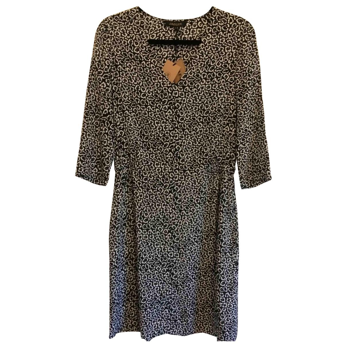 Jaeger \N Black Silk dress for Women 10 UK