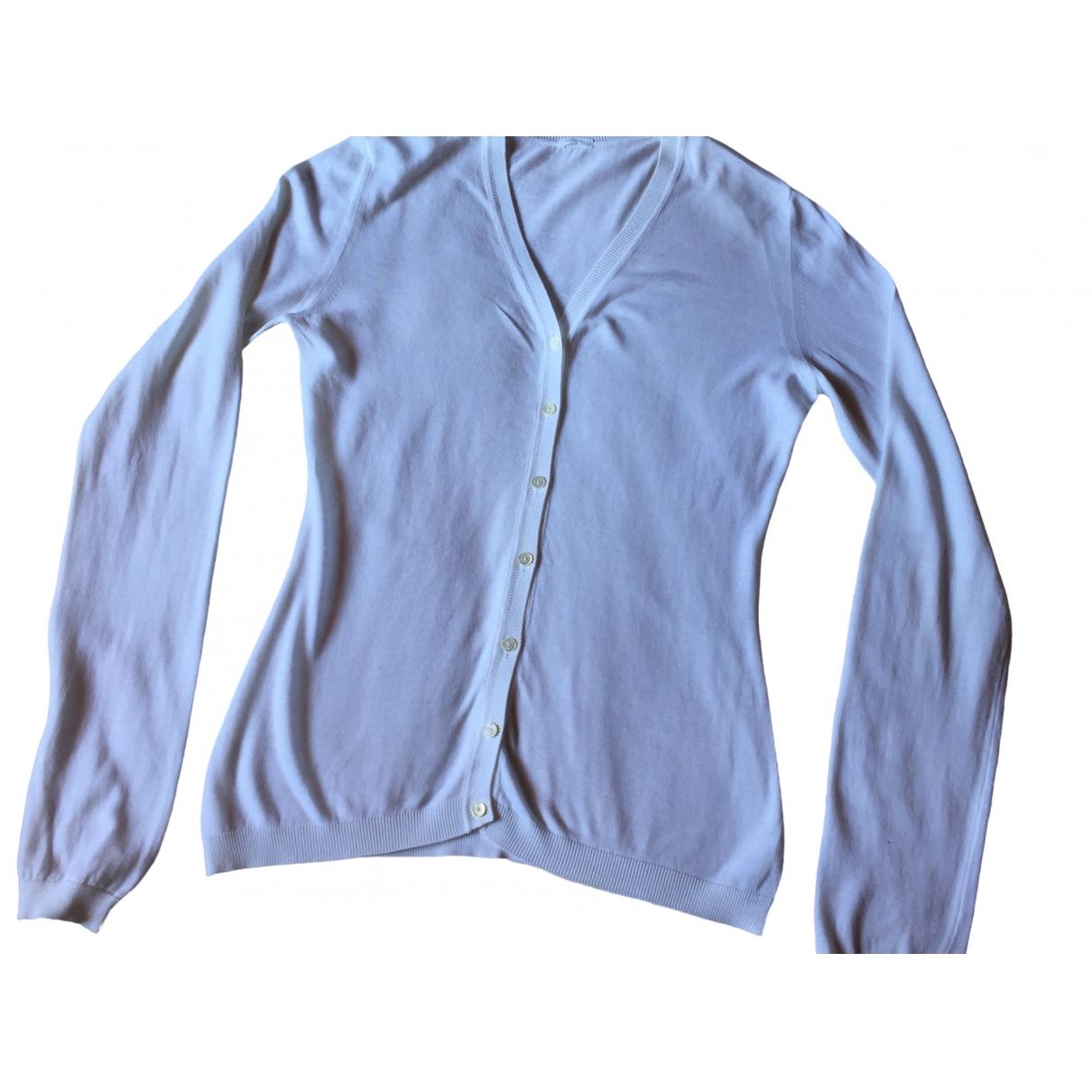 Malo - Pull   pour femme en coton - blanc