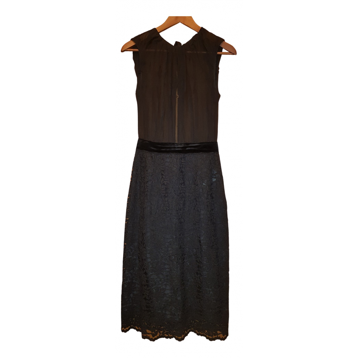 D&g \N Kleid in  Schwarz Spitze