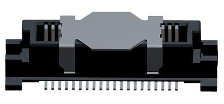 Molex , SlimStack, 55091, 40 Way, 2 Row, Vertical PCB Header (2)