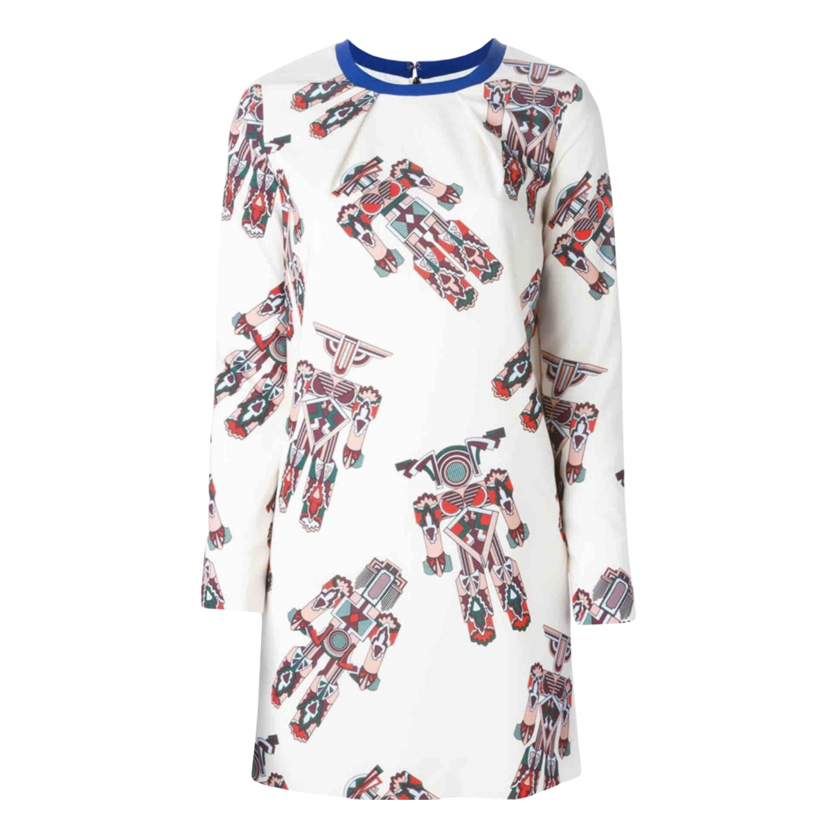Msgm \N Kleid in  Weiss Polyester