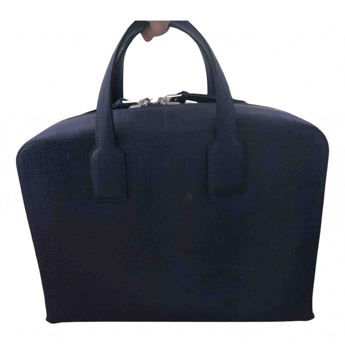 Loewe N Blue Leather bag for Men N