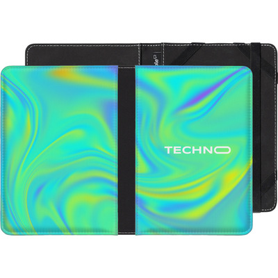 Amazon Kindle Touch eBook Reader Huelle - PSYCHEDELIC GREEN von Berlin Techno Collective