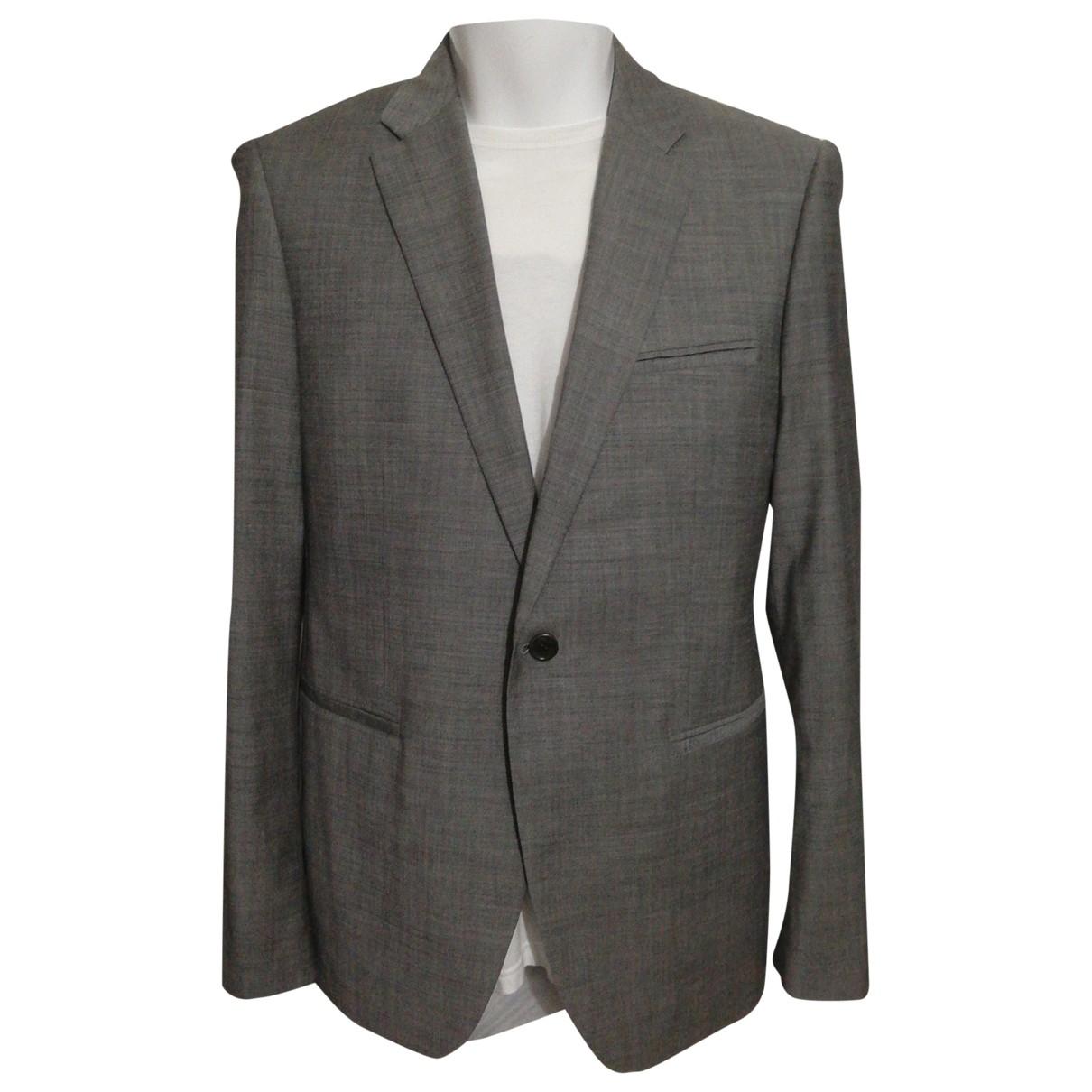Calvin Klein - Vestes.Blousons   pour homme en laine - gris