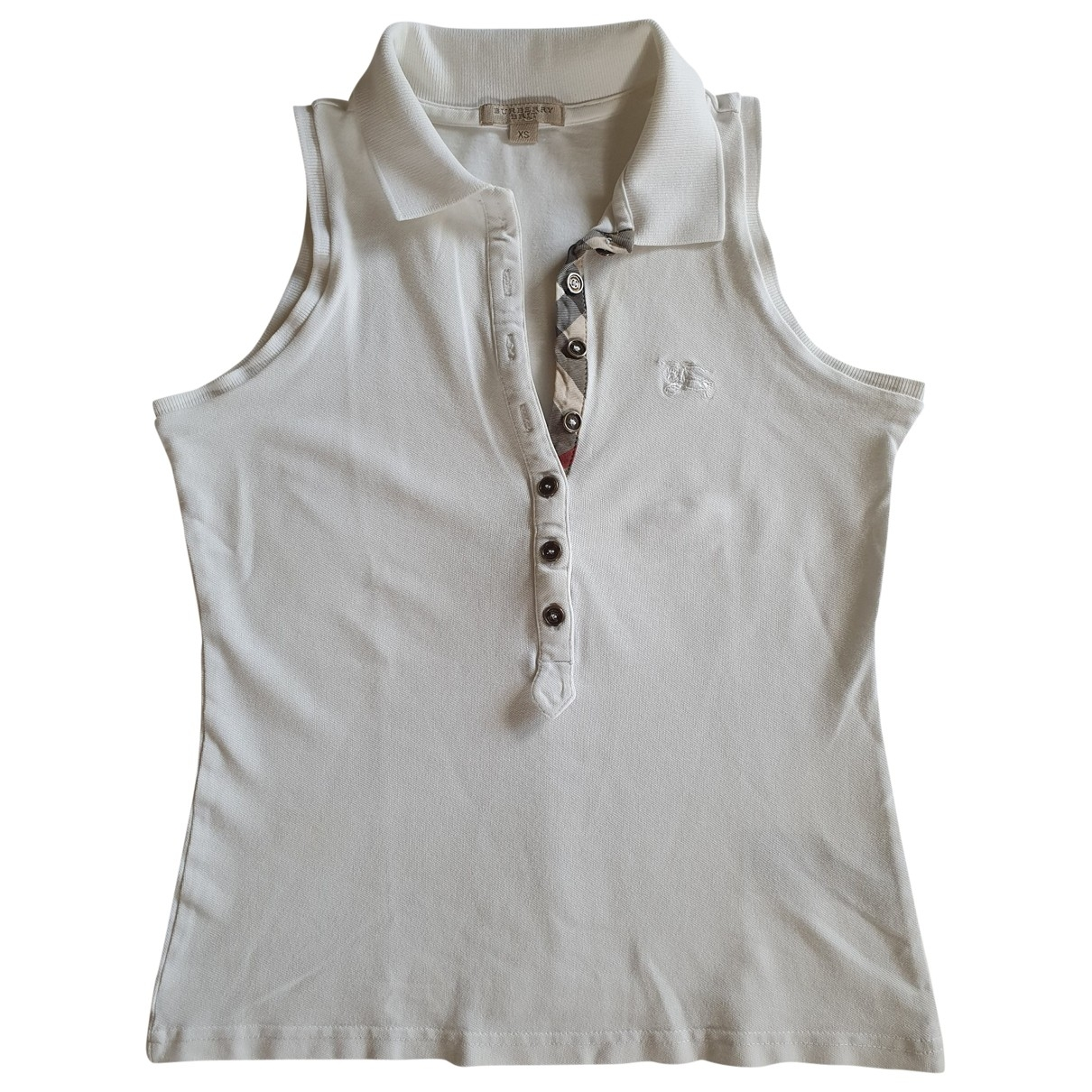 Burberry \N White Cotton  top for Women XS International