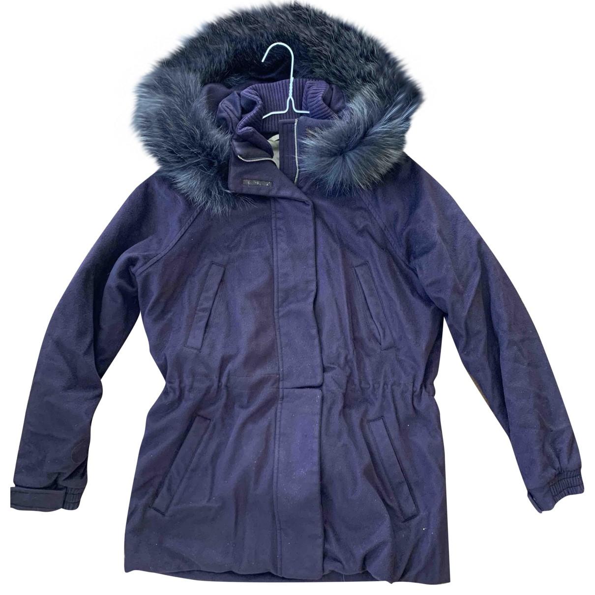 Loro Piana - Manteau   pour femme en cachemire - violet
