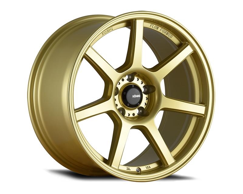 Konig Ultraform Gold 18x9 5x114.30 38 GDGLXX