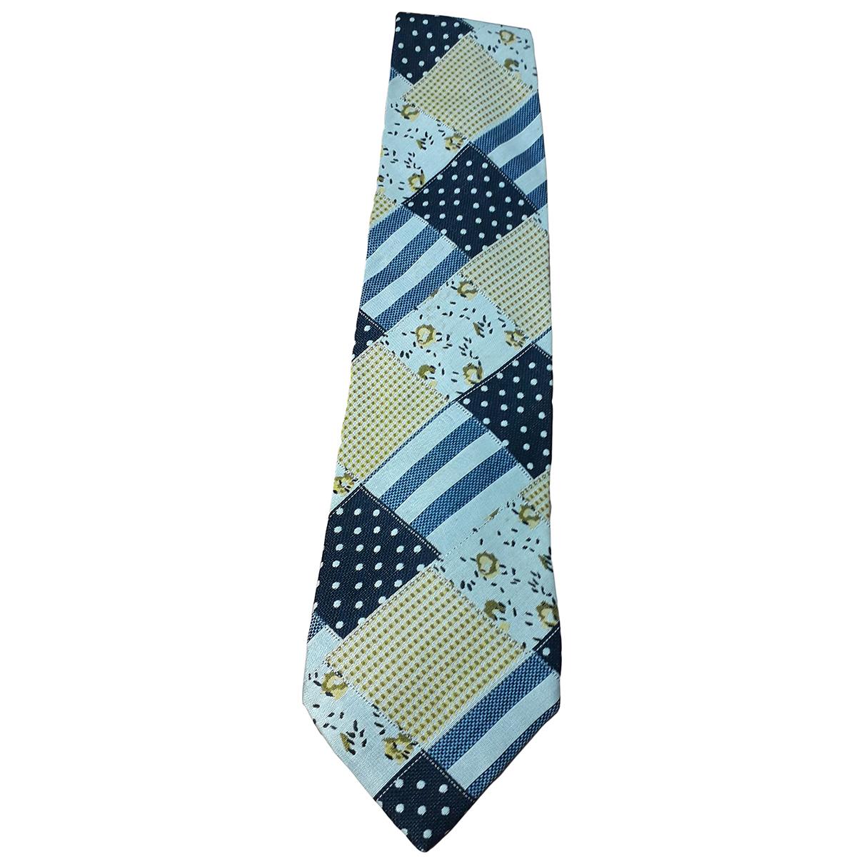 Moschino - Cravates   pour homme en coton - multicolore
