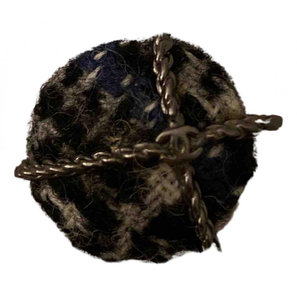 Chanel \N Heimtextilien in  Schwarz Tweed