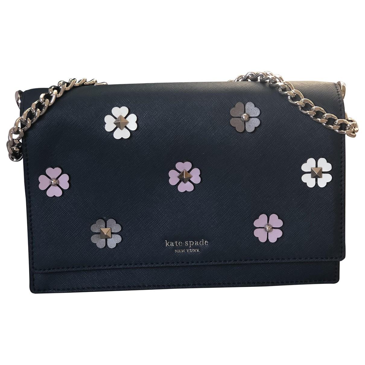 Kate Spade \N Blue Leather handbag for Women \N