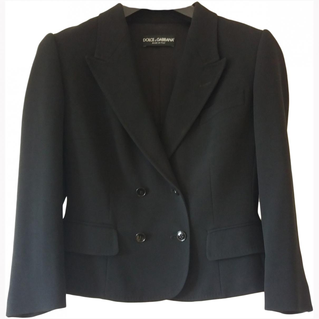 Dolce & Gabbana \N Black jacket for Women 40 IT