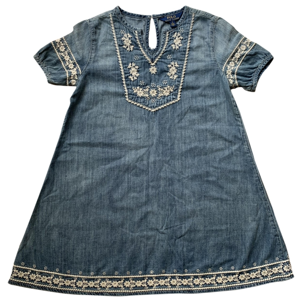 Polo Ralph Lauren \N Blue Cotton dress for Kids 8 years - until 50 inches UK