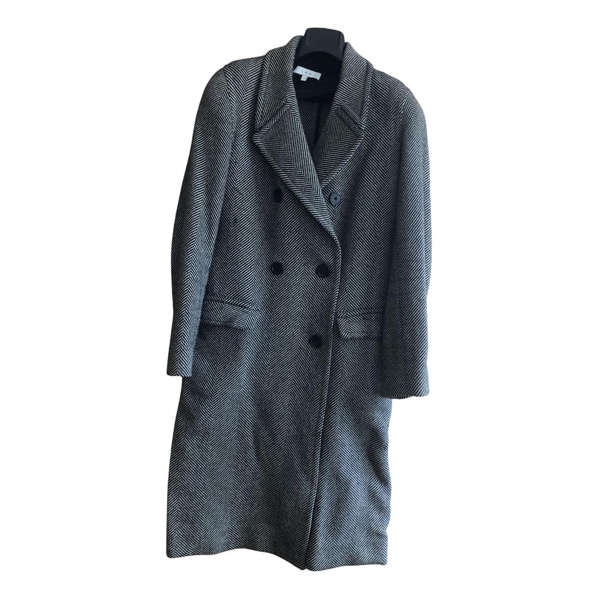Iro - Manteau Fall Winter 2019 pour femme en laine - noir