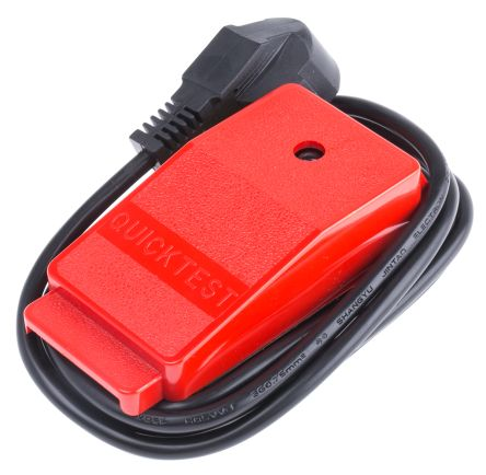 Cliff Electronics Test Plug Cable Entry 4 → 7mm, Rated At 5A, 240 V ac, with 1.5m Cord