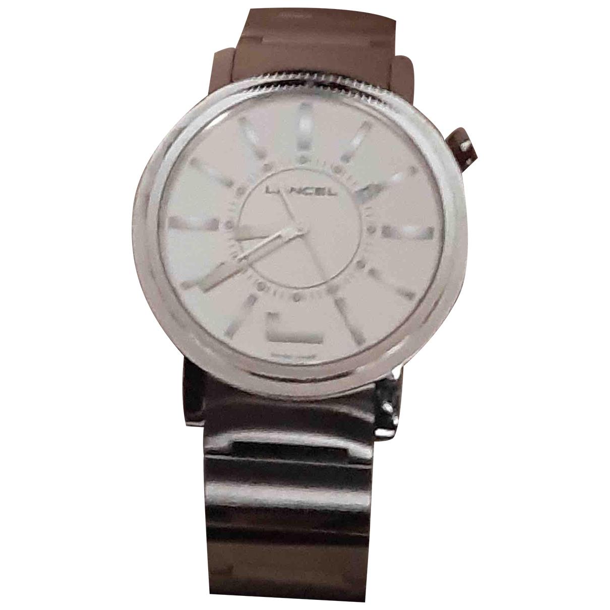 Lancel \N Uhr in  Silber Stahl