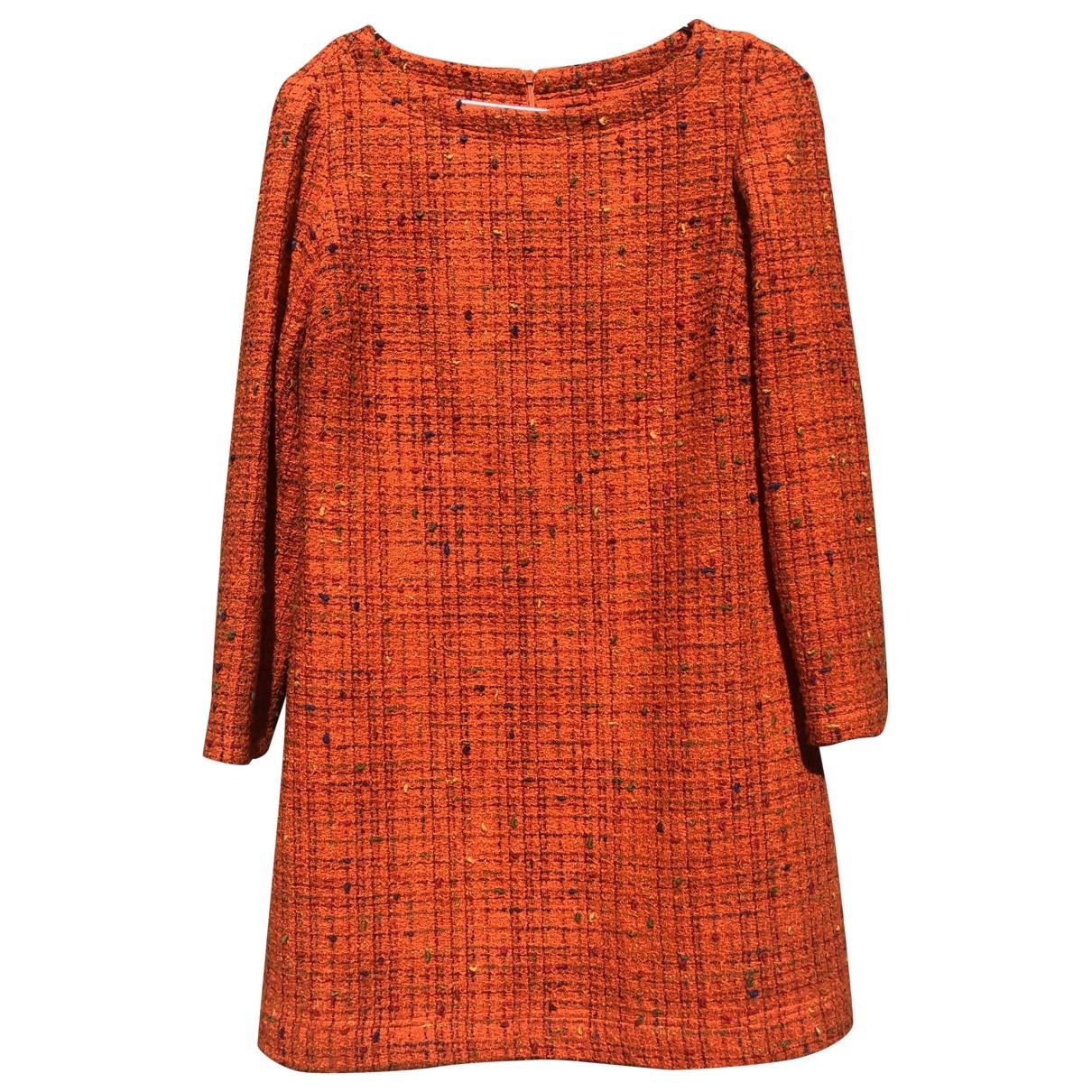 Versace Jeans \N Kleid in  Orange Wolle