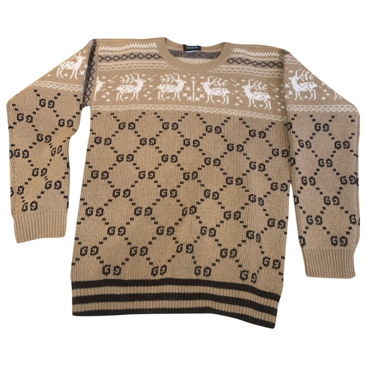 Gucci \N Beige Wool Knitwear for Kids 10 years - up to 142cm