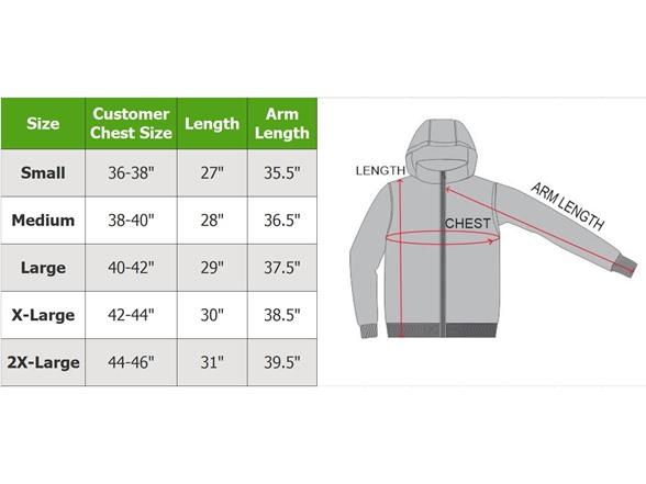 Men's Puffer Jacket W Contrast Trim
