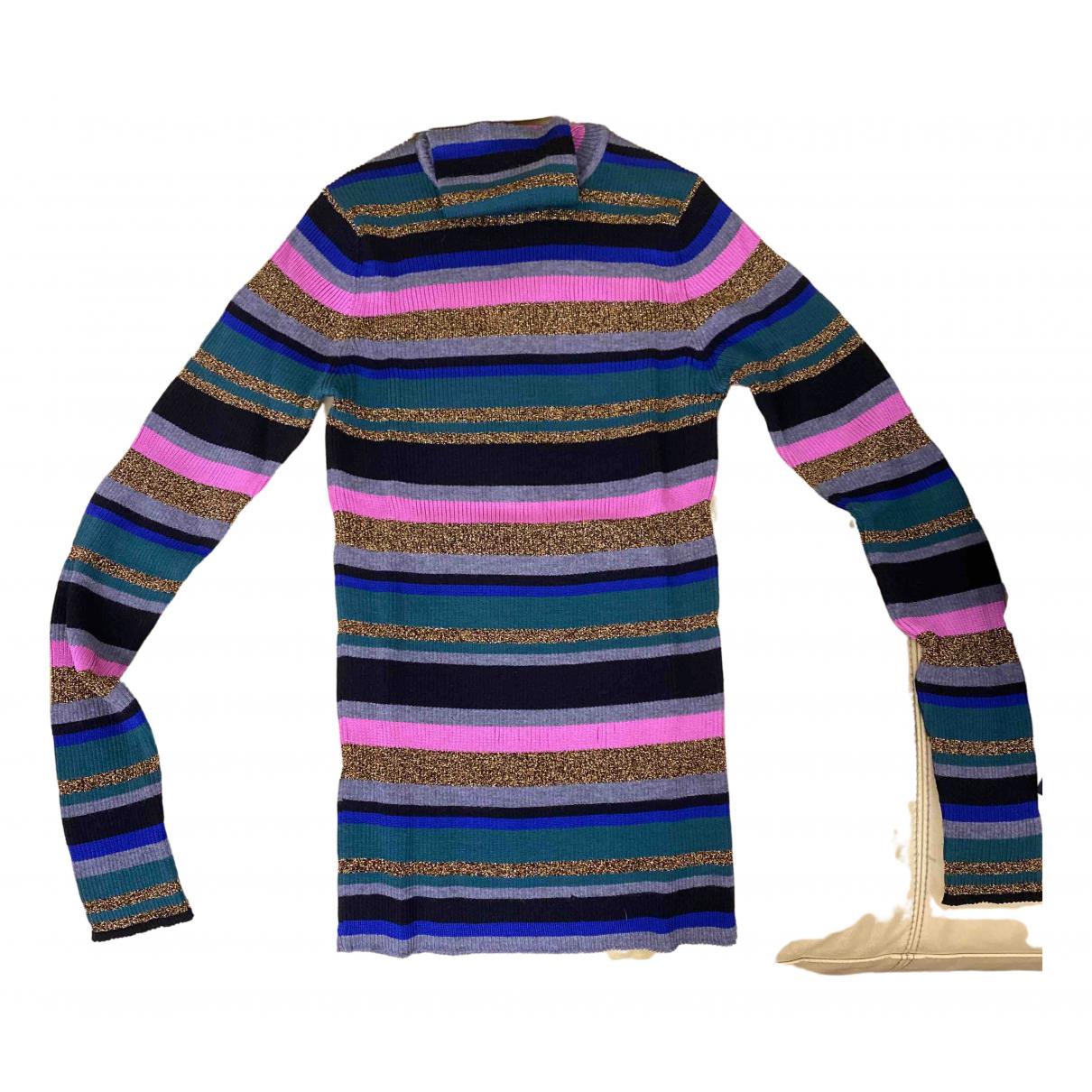 Emilio Pucci - Pull   pour femme en laine - metallise