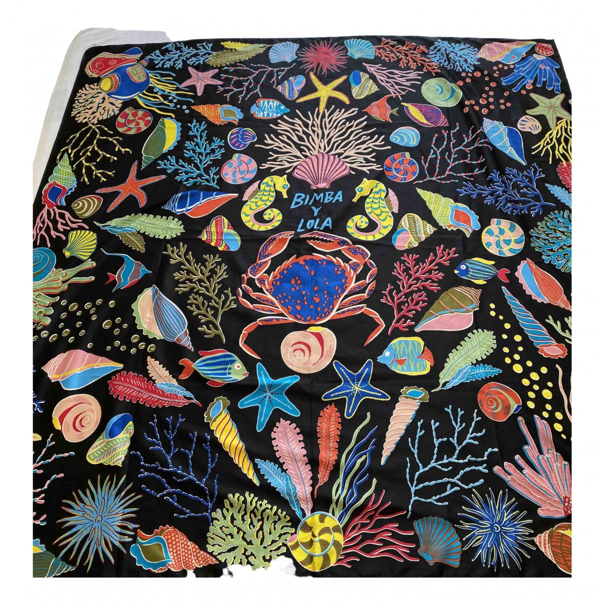 Bimba Y Lola \N Silk scarf for Women \N
