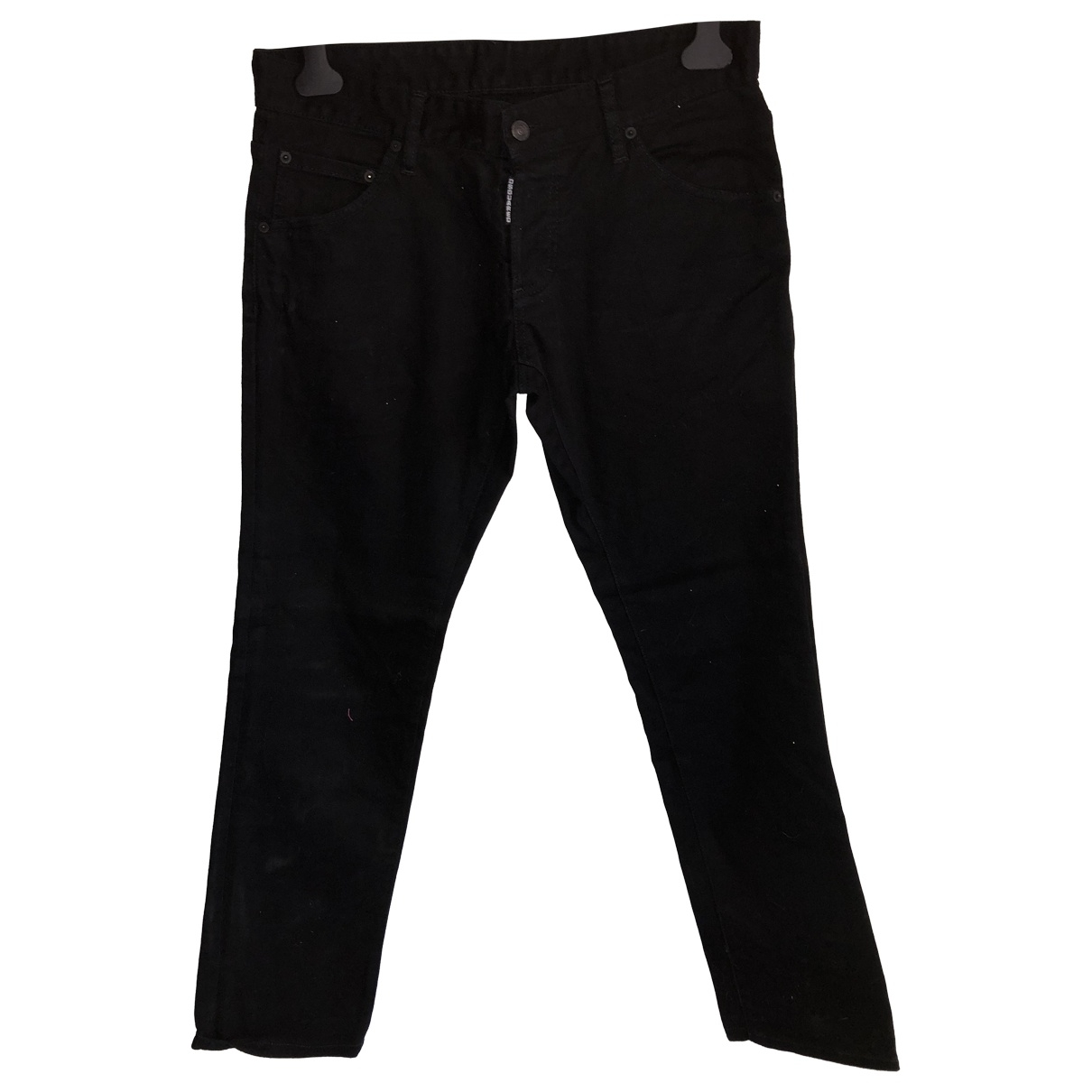Dsquared2 \N Black Cotton Jeans for Men 44 FR