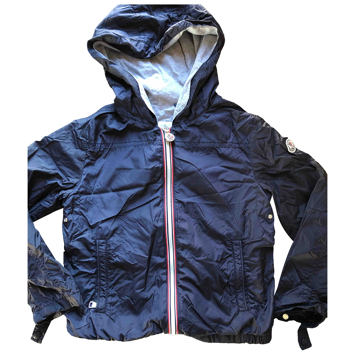 Moncler Classic Navy Cotton jacket & coat for Kids 6 years - up to 114cm FR