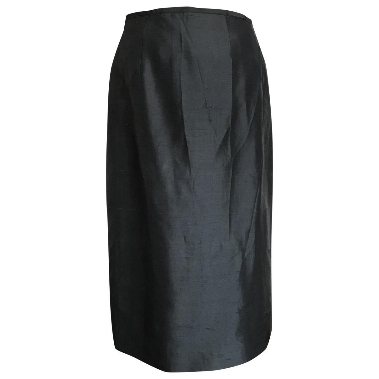Valentino Garavani - Jupe   pour femme en soie - gris