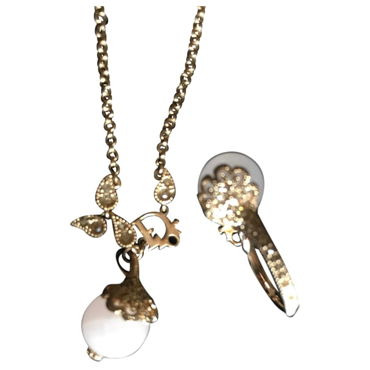 Dior \N Schmuck-set in  Silber Metall