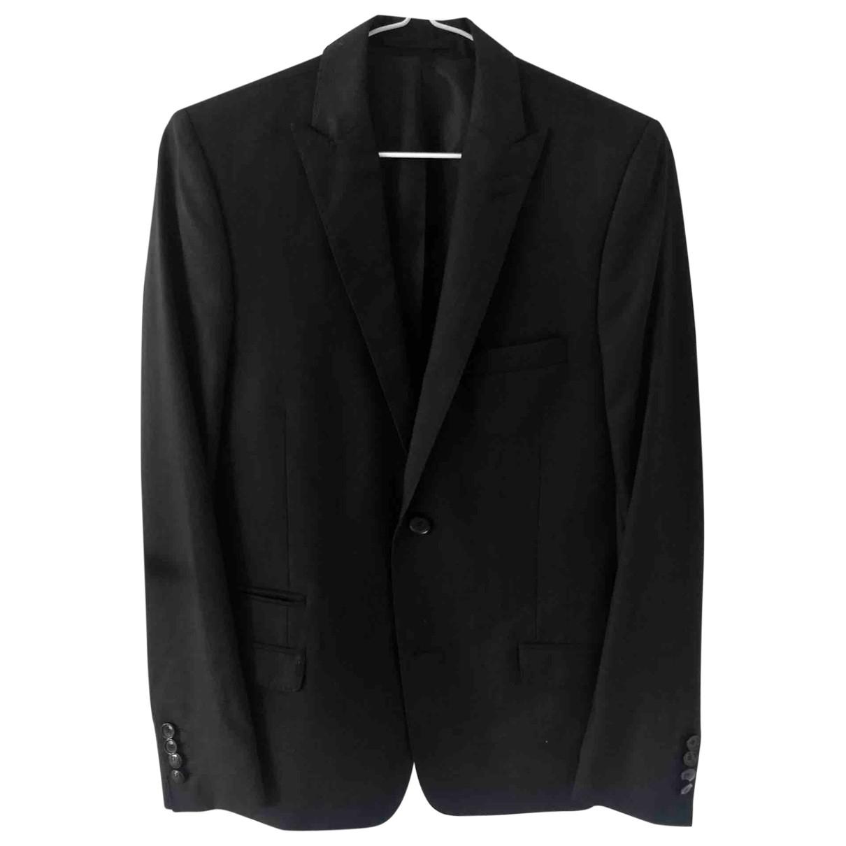 The Kooples \N Black Wool jacket  for Men 44 FR