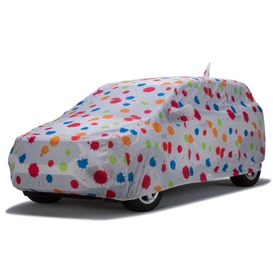 Covercraft C9858KS Grafix Series Custom Car Cover Paint Splatter Chevrolet Corvette 1986-1990