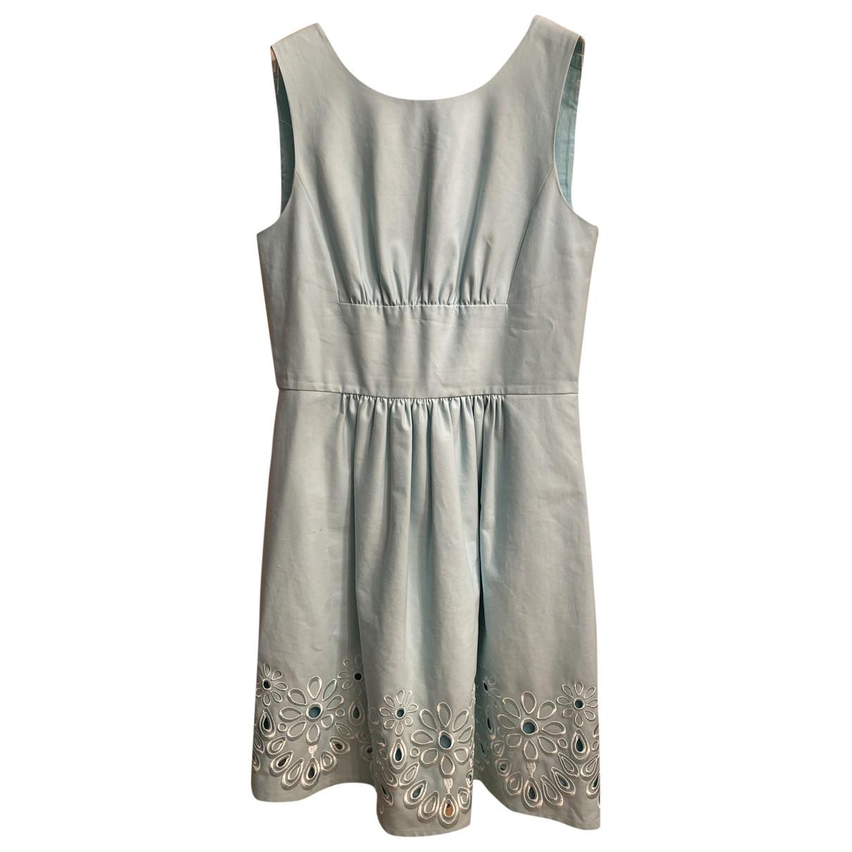 Moschino \N Kleid in  Blau Baumwolle
