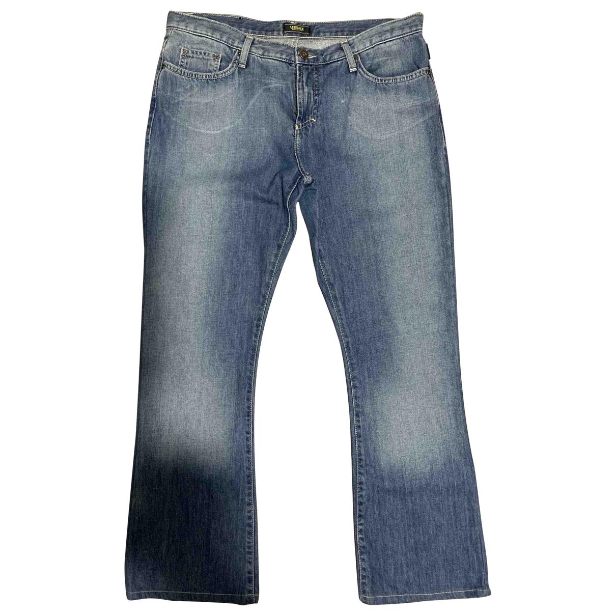 Versace Jeans \N Blue Denim - Jeans Jeans for Women 31 US