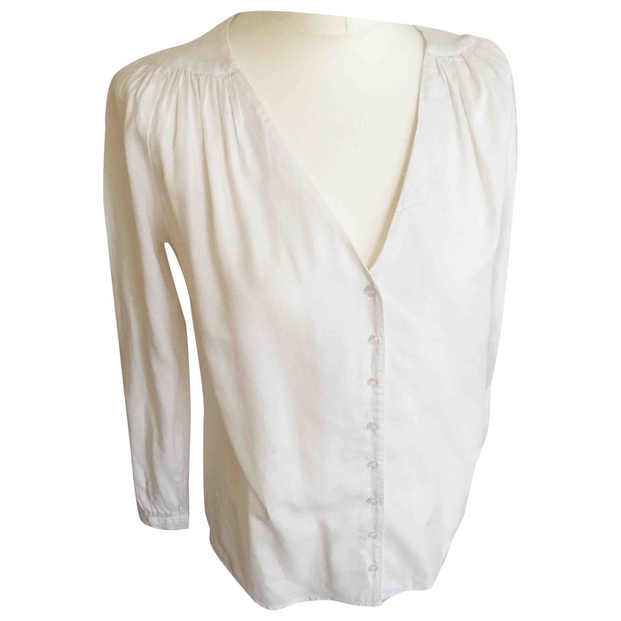 Ba&sh - Top   pour femme en coton - ecru