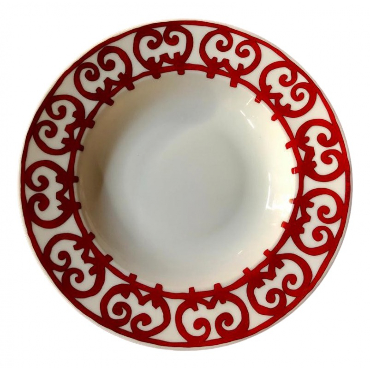 Plato Balcon du Guadalquivir de Porcelana Hermes