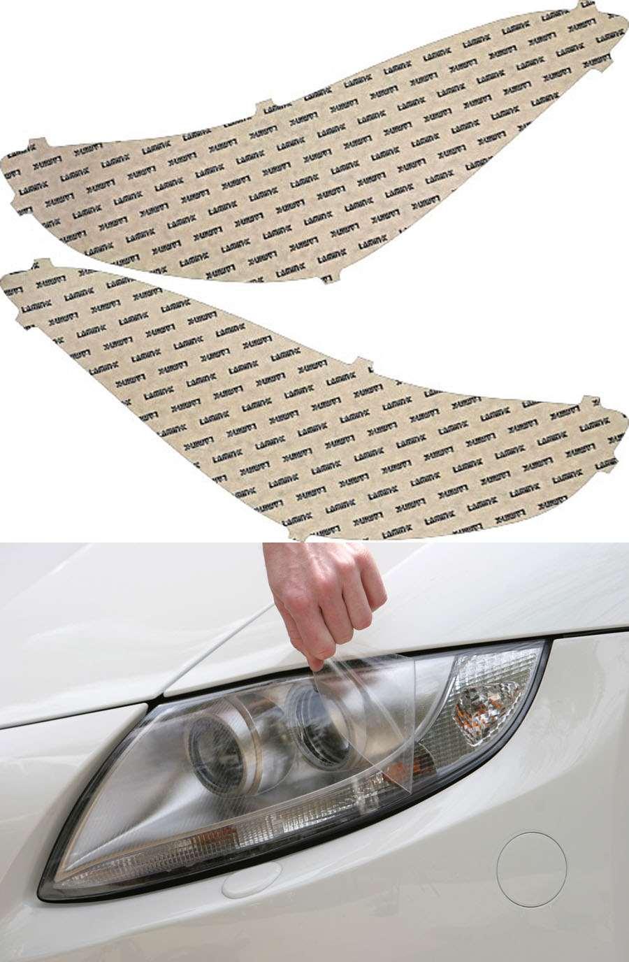Hyundai Elantra GT 13-15 Clear Headlight Covers Lamin-X HY025CL
