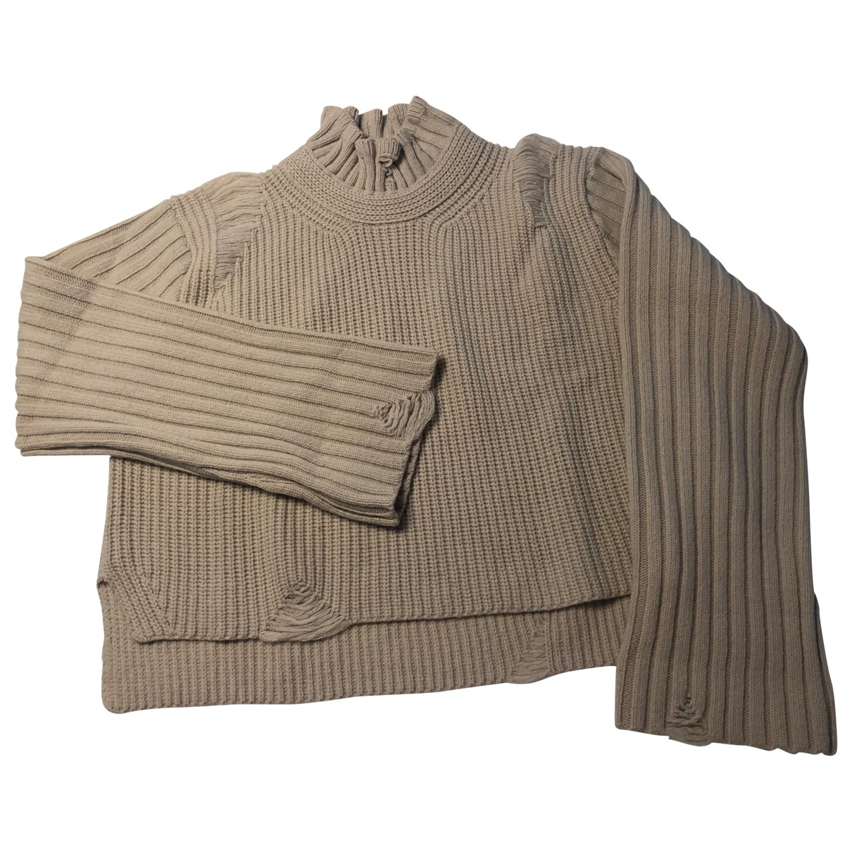 Golden Goose \N Pullover in  Beige Wolle