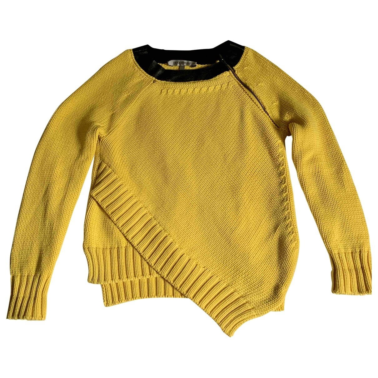 Sport Max \N Yellow Cotton Knitwear for Women S International