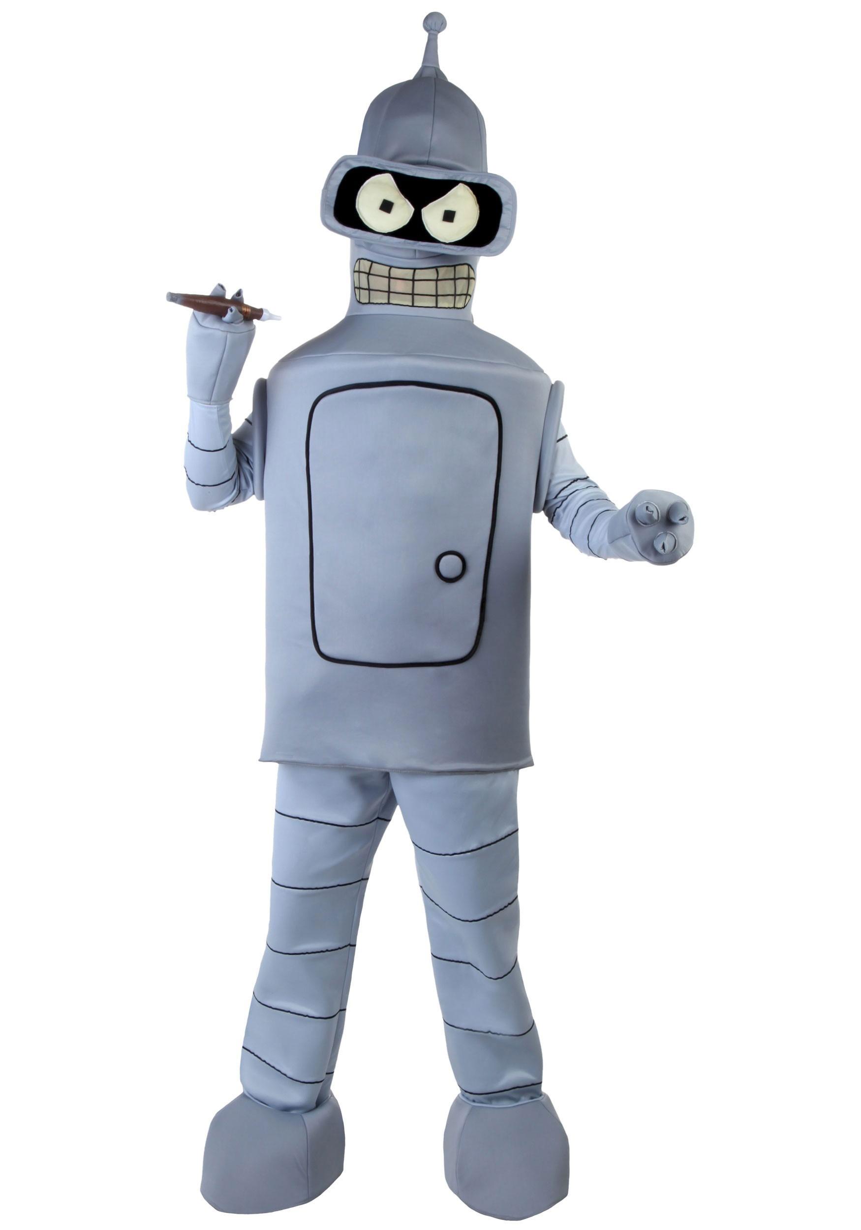 Adult Bender Costume | Futurama Costume | Exclusive