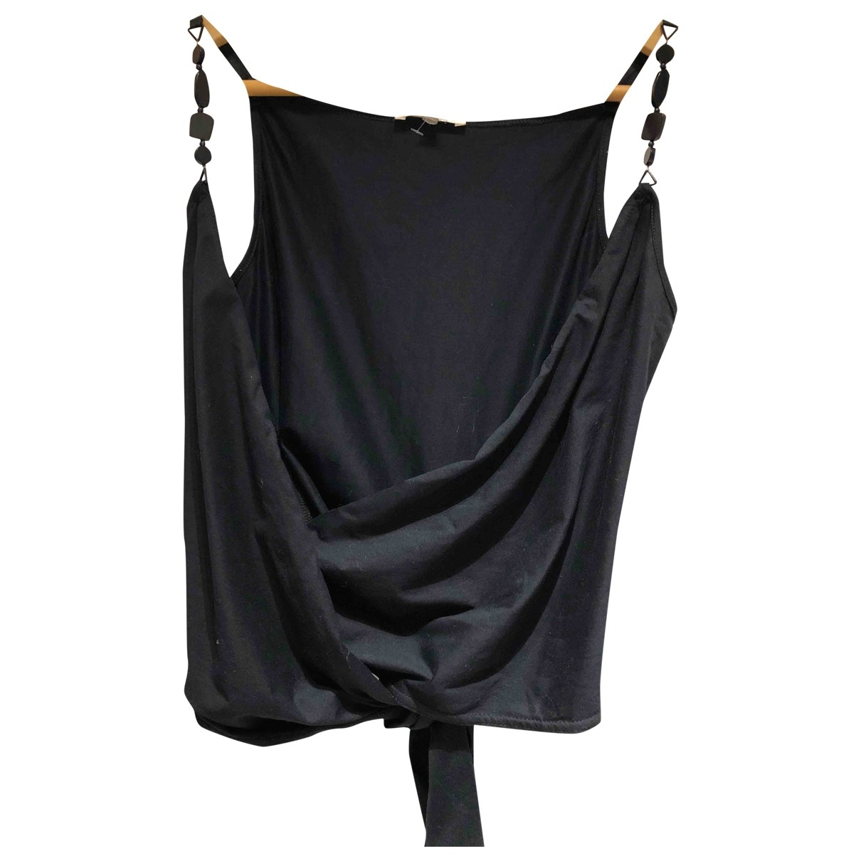 Paule Ka - Top   pour femme en coton - noir