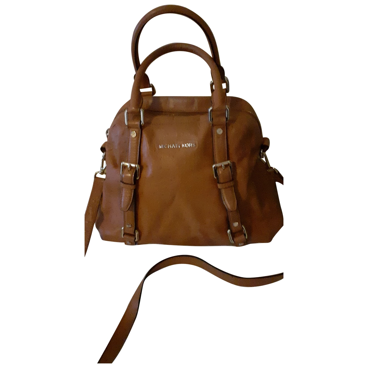 Michael Kors \N Camel Leather handbag for Women \N